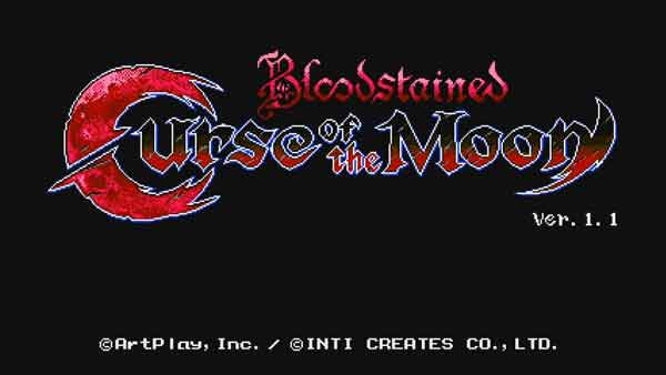 Bloodstained Curse of the Moonクリア後の評価、レビュー