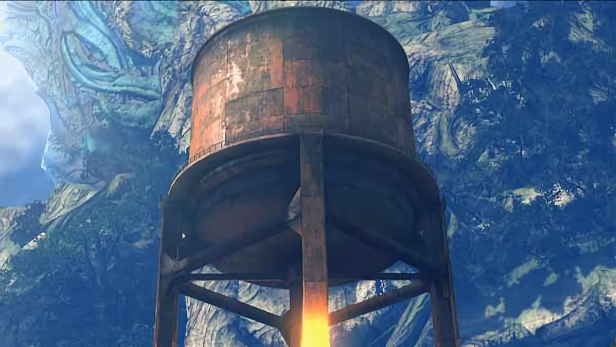 ゼノブレイド2 給水塔(貯水タンク)の行方