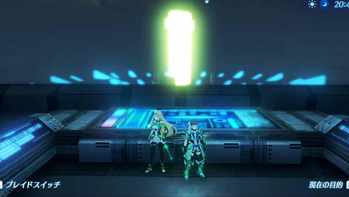 ゼノブレイド2 通常では絶対に行くことのできないゲート部屋に行く