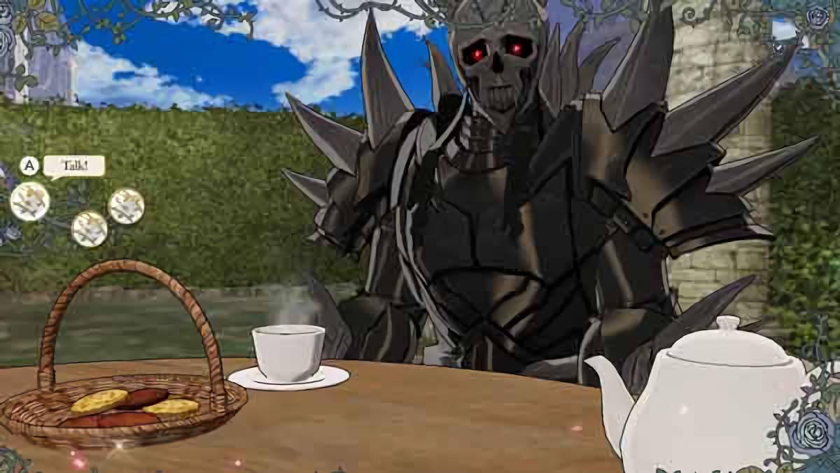 ファイアーエムブレム 風花雪月 死神騎士やベレスを無理やりお茶会に誘ったらどうなるのか?
