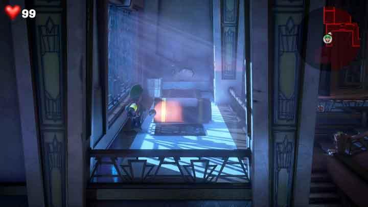 ルイージマンション3 地下2階 宝石