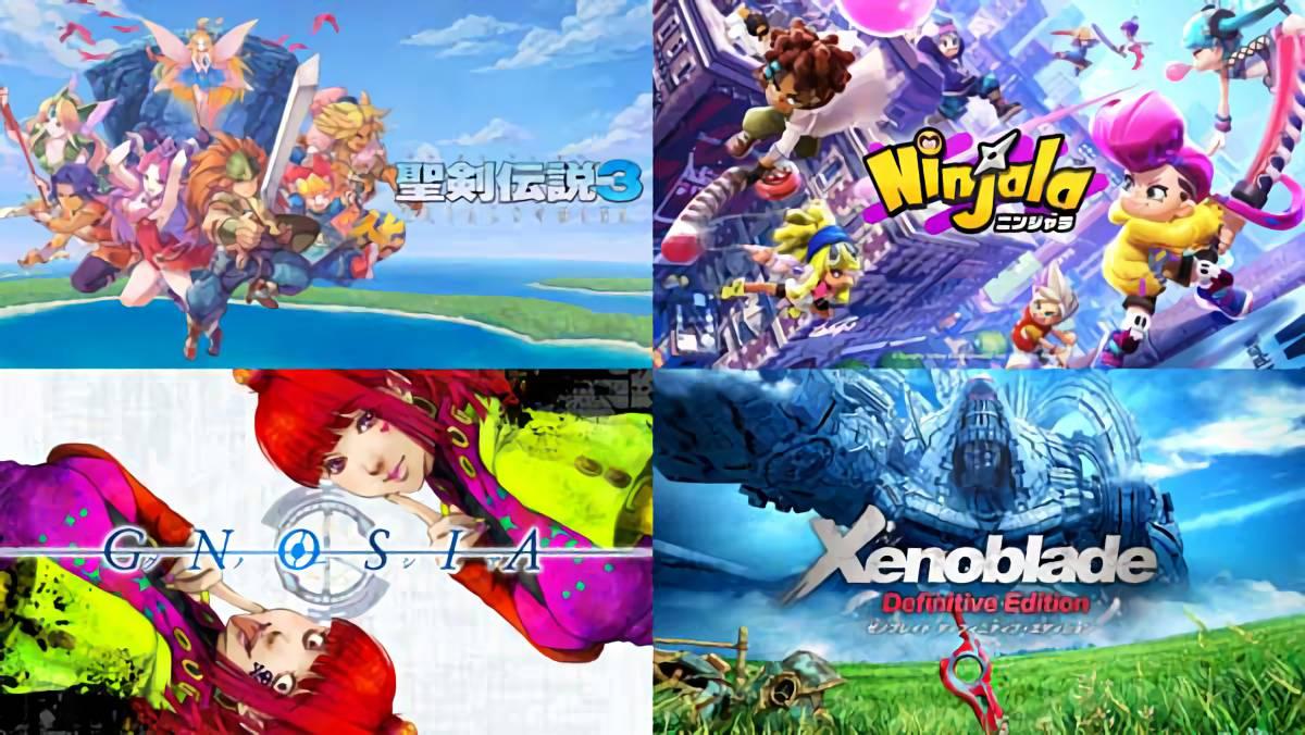 【4月~6月】Nintendo Direct miniで発表された気になるソフトまとめ