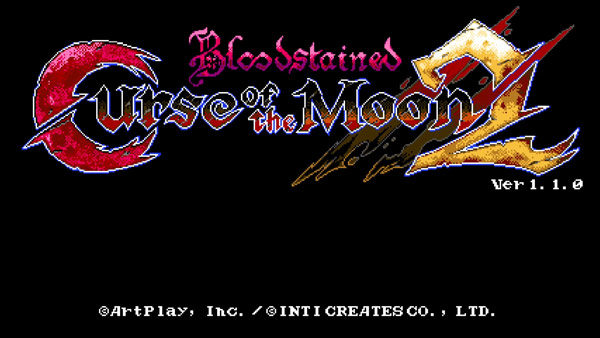 Bloodstained Curse of the Moon 2をクリアしたので評価とレビュー