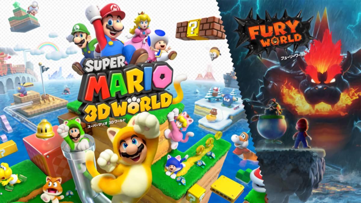 スーパーマリオ 3Dワールド+フューリーワールドをクリアしたので評価とレビュー