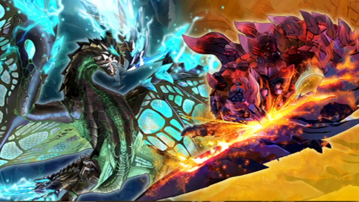 モンスターハンターストーリーズ2 燼滅刃と青電主の共闘クエストが配信開始!