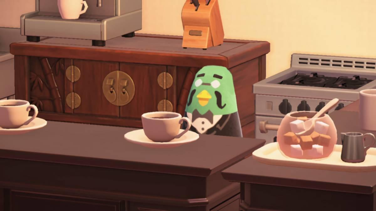 あつまれどうぶつの森 アプデで追加される喫茶店のマスターを作る